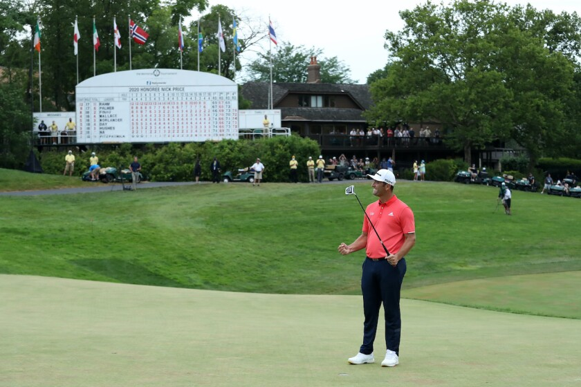 Jon Rahm wins 2020 Memorial Tournament