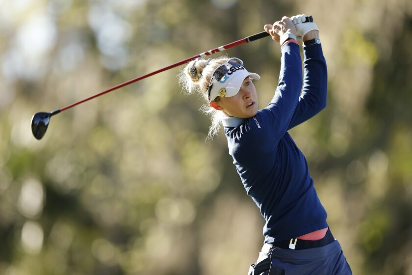 Nelly Korda shares 1st-round lead at 2021 LPGA Drive On Championship
