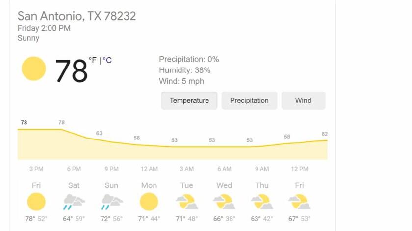 Weather — 10-Day Screenshot Test