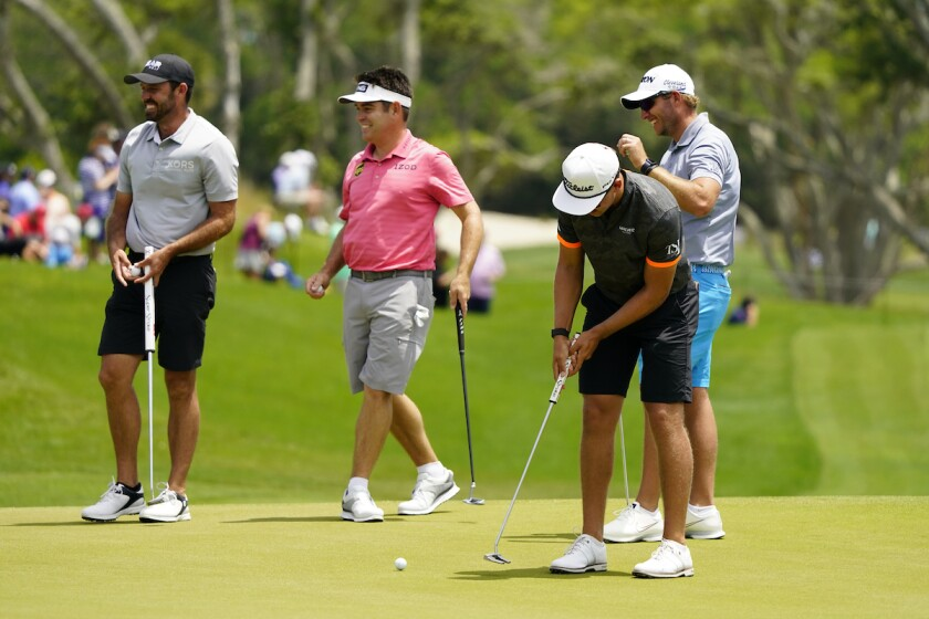 South Africans practice before 2021 PGA Championship