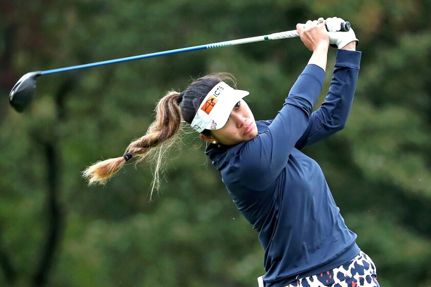 LPGA rookie Bianca Pagdanganan of the Philippines