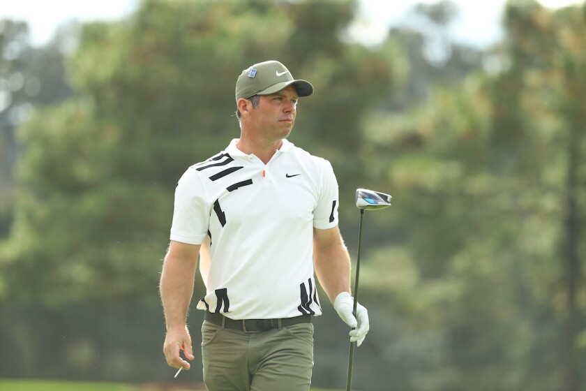 Paul Casey 1st round 2020 Masters