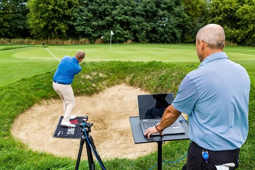V1 Sports bunker lesson