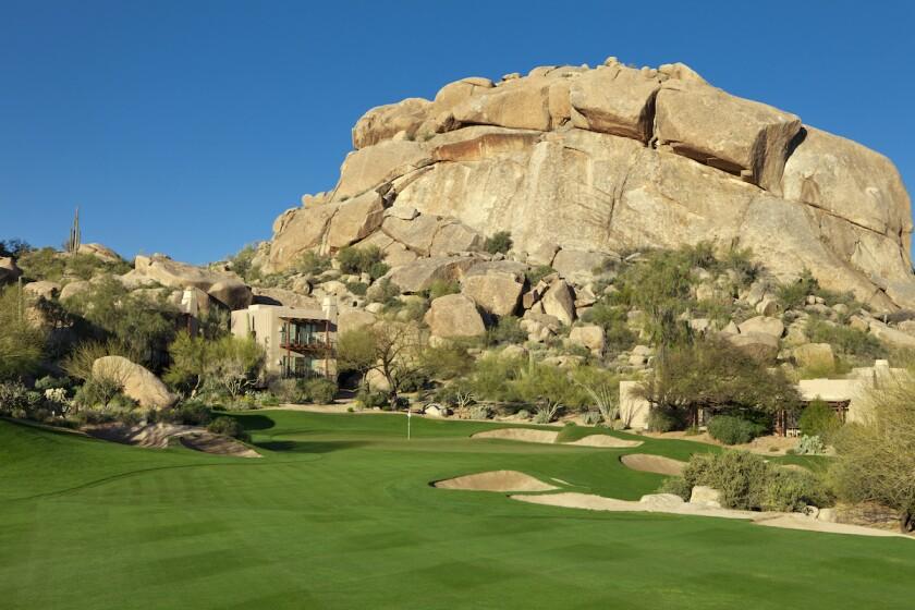 Boulders Resort & Spa South Course No. 5 hole