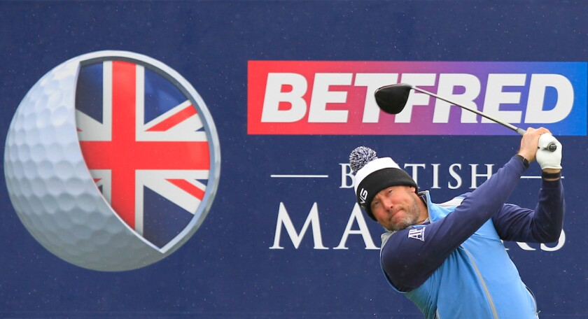 Lee Westwood 2019 Betfred British Masters
