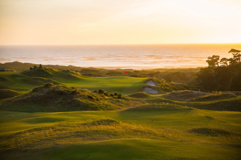 Bandon Dunes, The Preserve's par-3 ninth