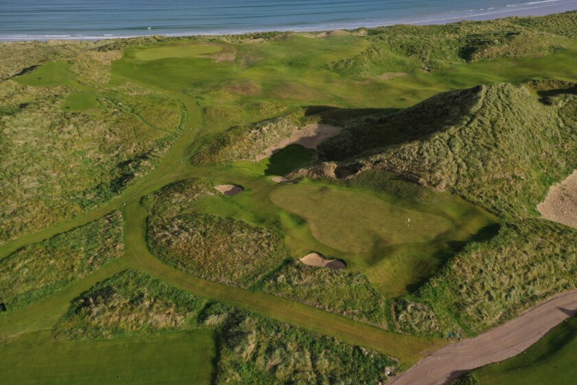 Narin & Portnoo Links — Holes No. 10 and 11