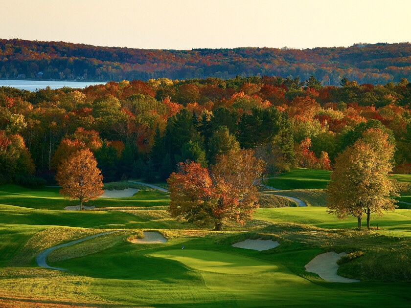 Crystal Downs Country Club in Michigan