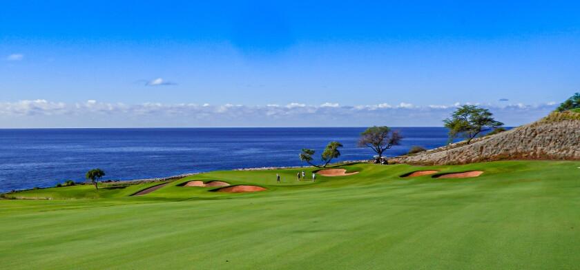 Four Season Resort Lanai's Manele Golf Course — Hole No. 11