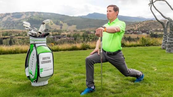 GOLFFOREVER Morning Read Justin Leonard hip flexor golf exercise