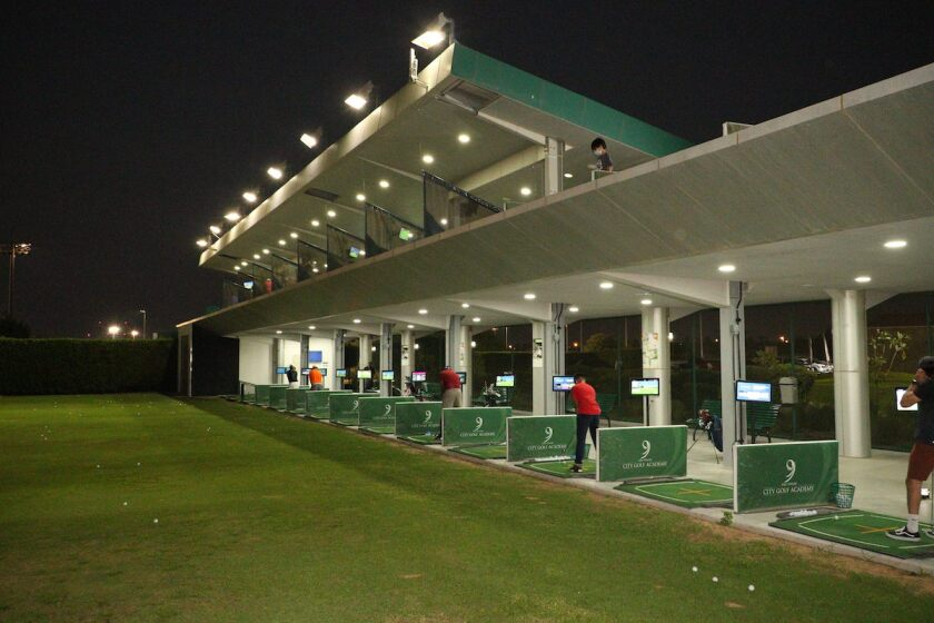 Abu Dhabi City Golf Club practice range