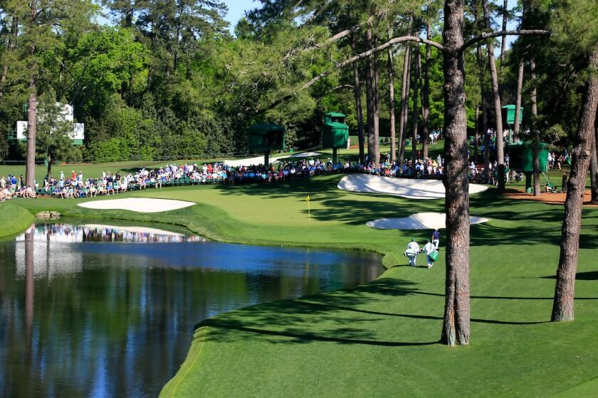 Augusta National Golf Club — Hole No. 16