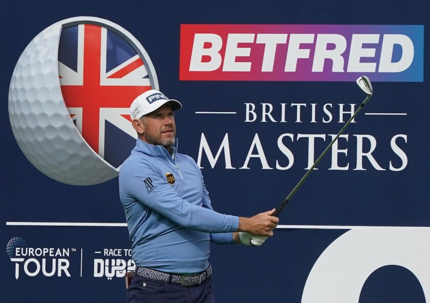 Lee Westwood 2020 Betfred British Masters