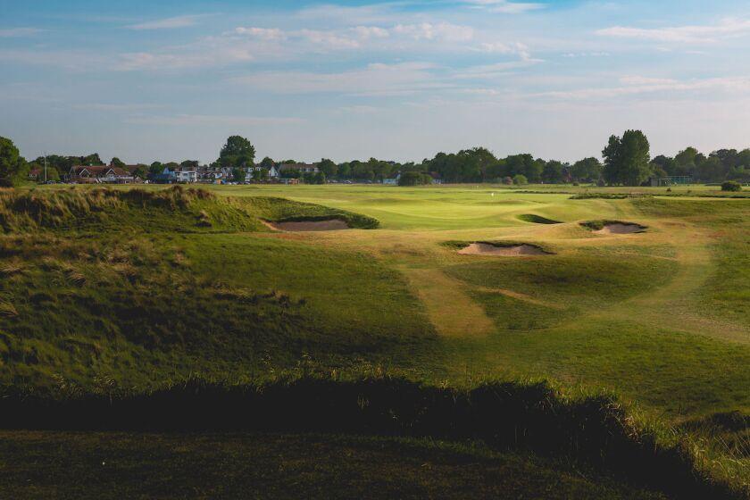 17th Hole at Littlestone Golf Club