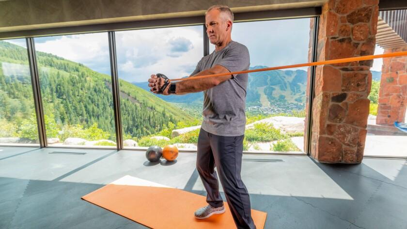 GolfForever tubing rotational exercises
