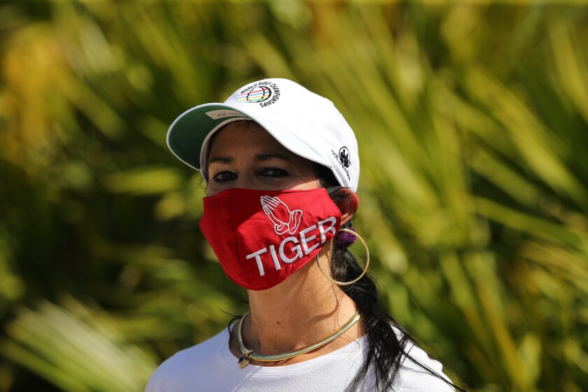 Tiger Woods support at WGC Workday Championship at The Concession