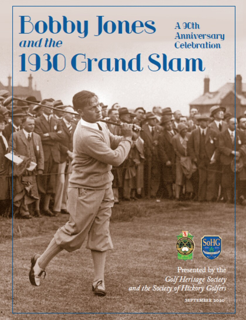 Bobby Jones and the 1930 Grand Slam