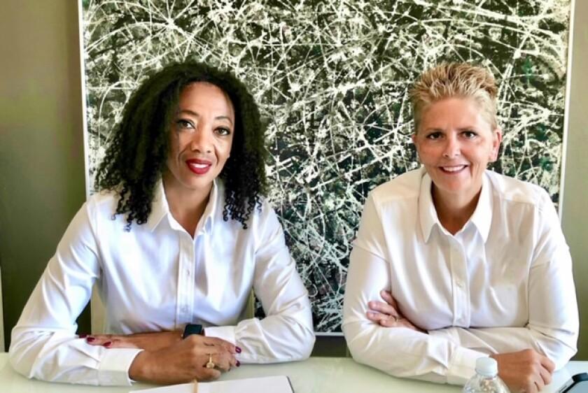 Orca Golf Bags founders Erica and Deborah Bennett