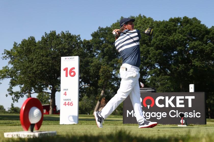 Winner Bryson DeChambeau PGA Tour 2020 Rocket Mortgage Classic final round