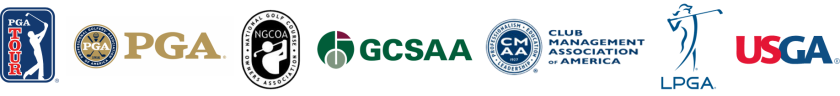 Golf organization logos