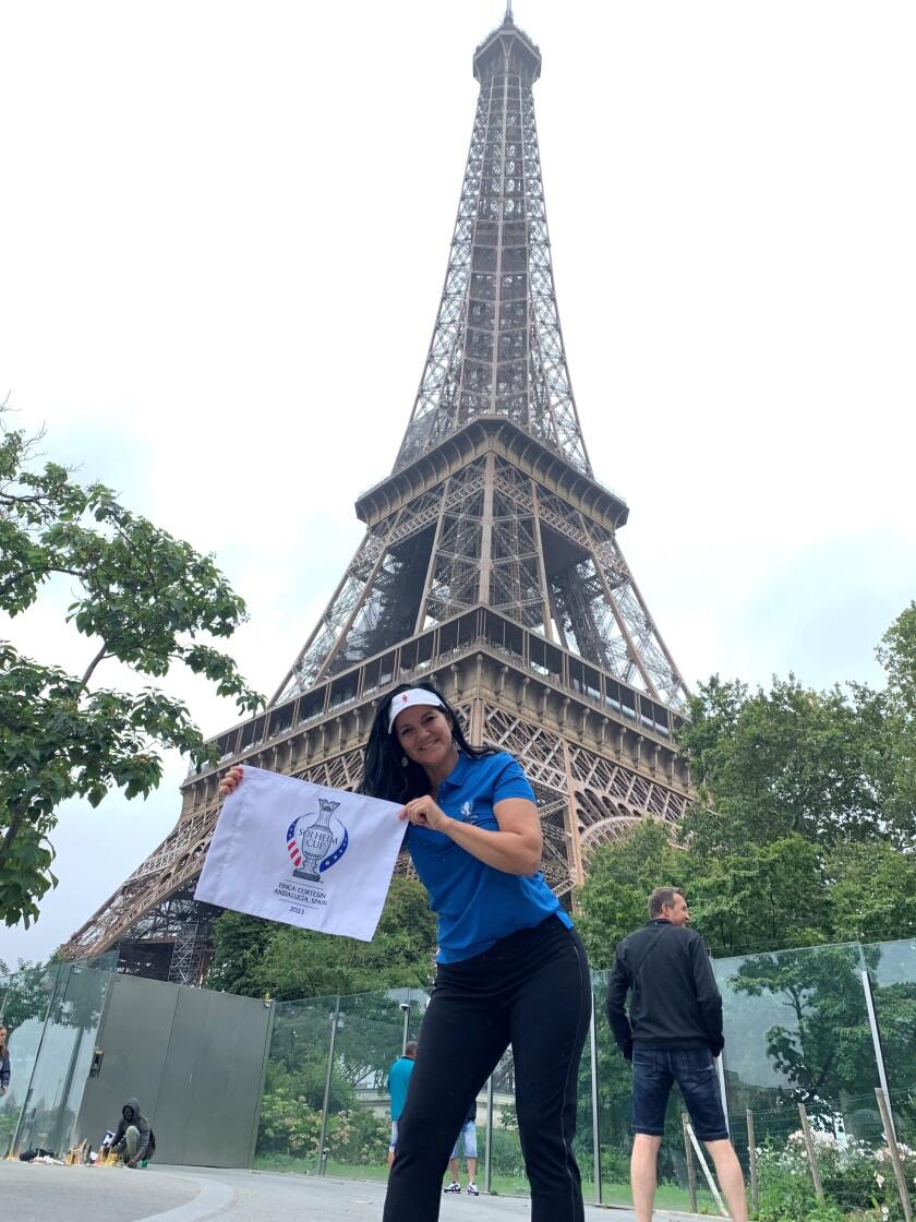 Elisa Gaudet 2023 Solheim Cup Ambassador in Paris.jpg