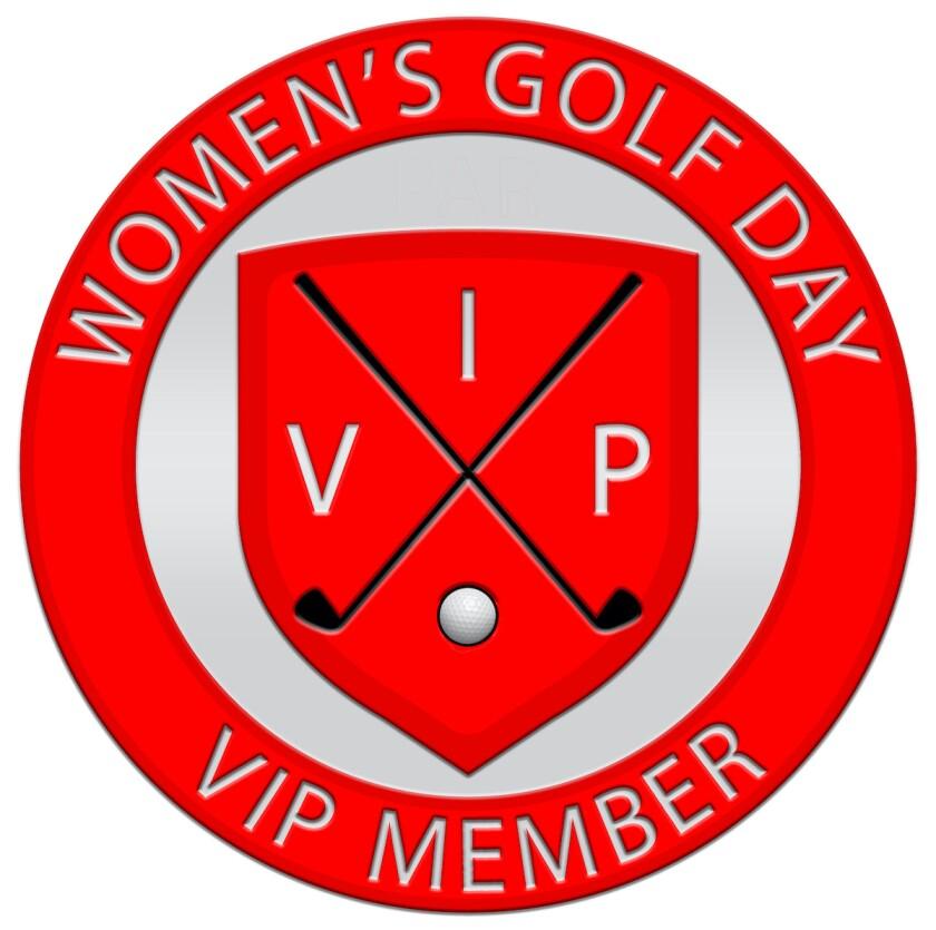Women's Golf Day VIP membership logo