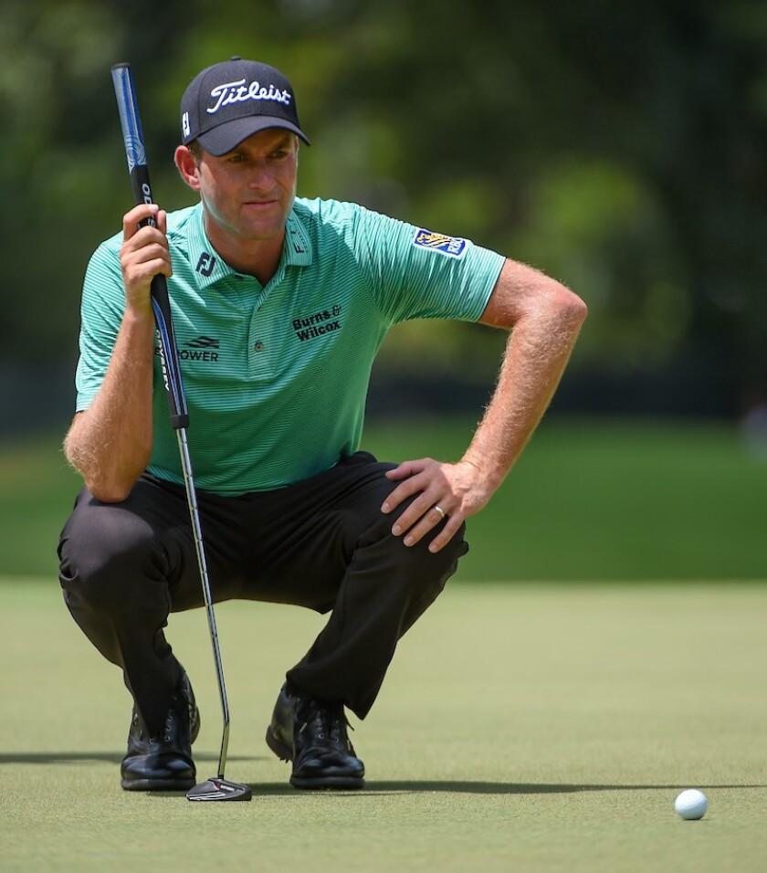 Webb Simpson putting 2019 Tour Championship