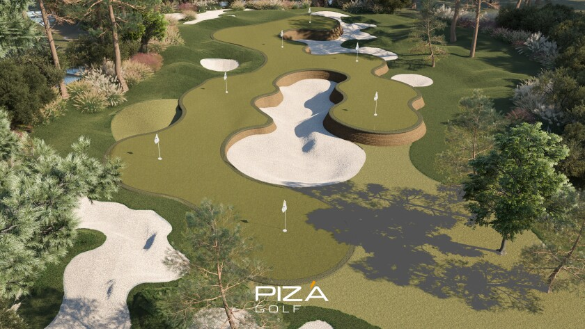 Piza Golf — 1