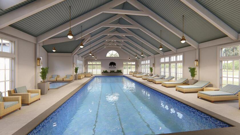 Belfair — Fitness Center's New Pool Rendering