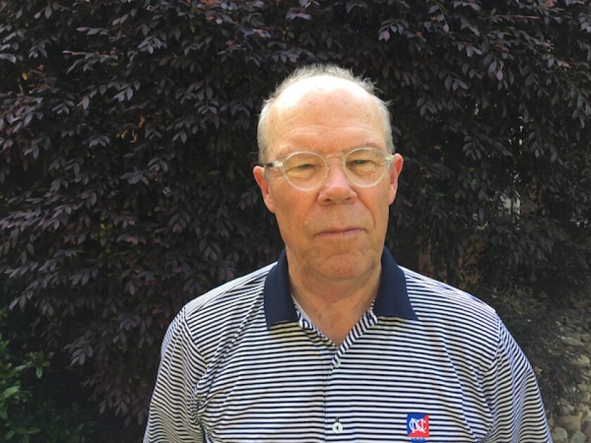 Brad Becken, current president of the Donald Ross Society