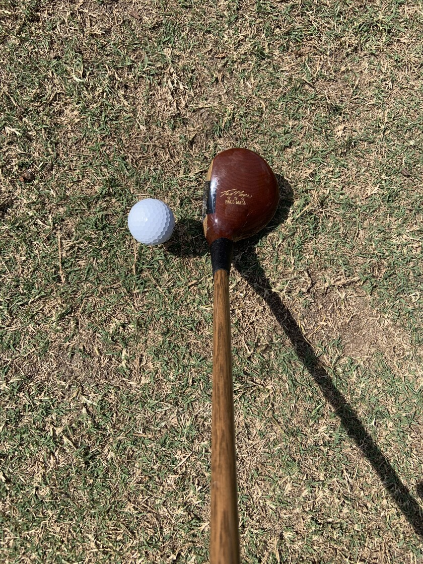 Persimmon Driver — Hickory Shaft
