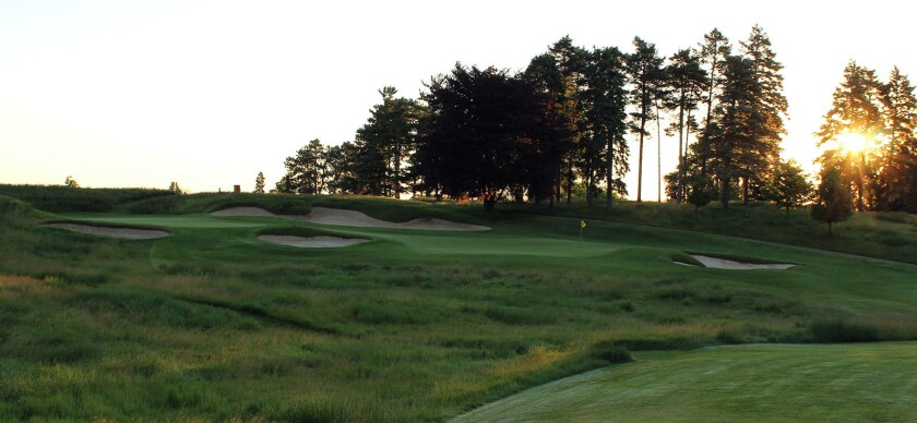 University Of Michigan Golf Course — Hole No. 6