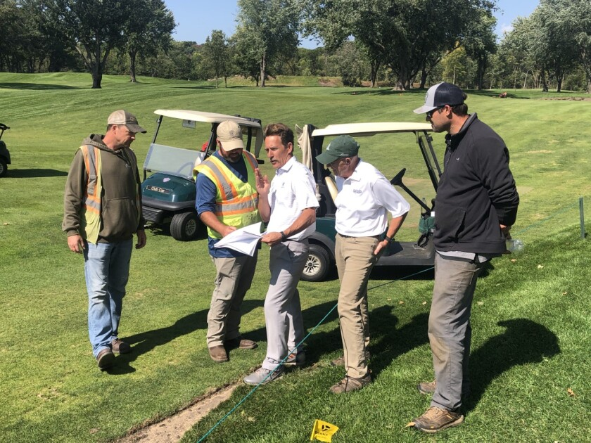 Renovation at Eau Claire Golf and Country Club