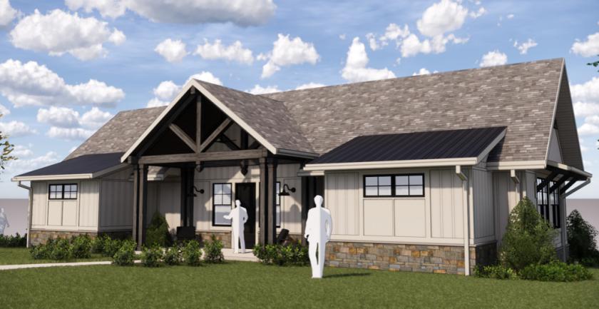 Ballyhack Golf Club executive cottage rendering