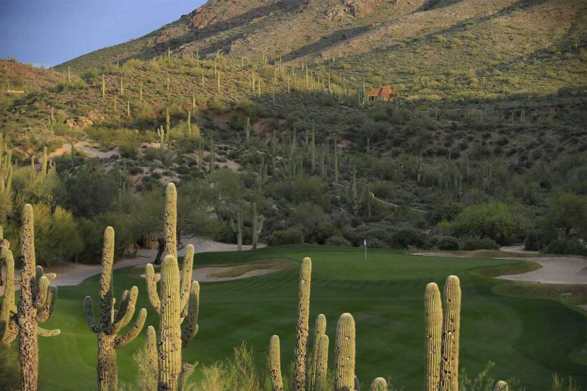 Troon Country Club in Scottsdale Arizona