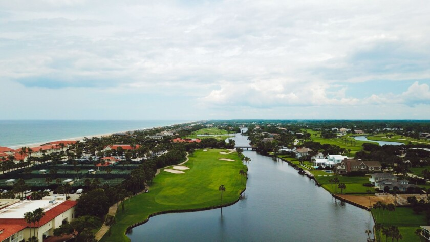 Ponte Vedra Inn and Club — Aerial