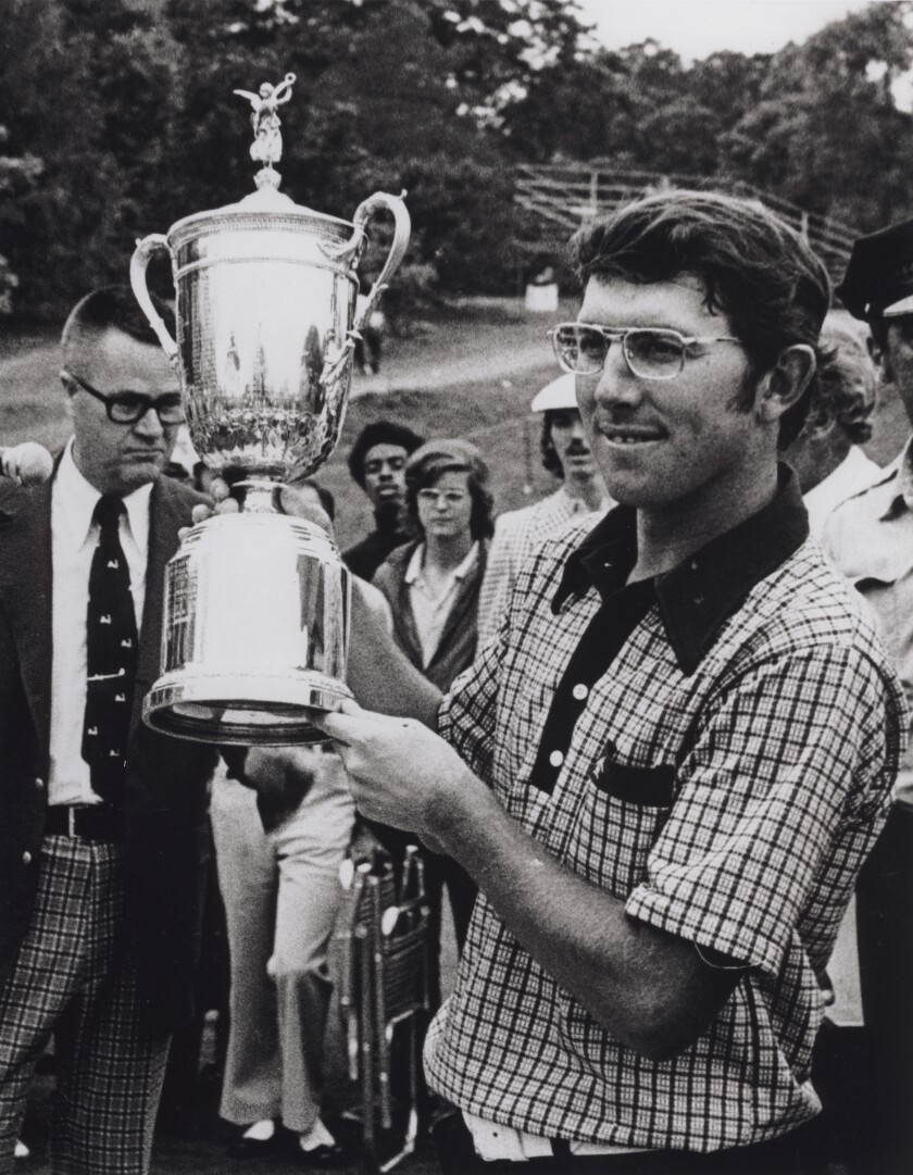 Hale Irwin wins 1974 U.S. Open at Winged Foot