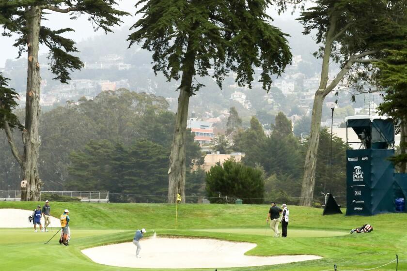 2020 PGA Championship 1st round