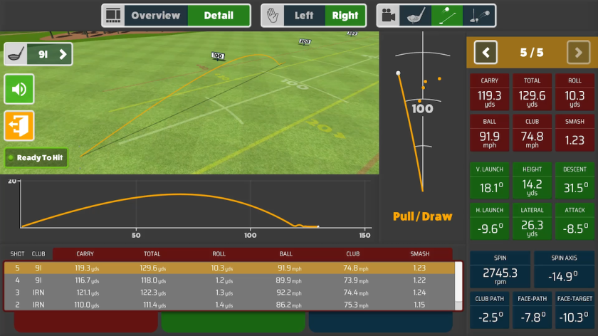 Awesome Golf App2