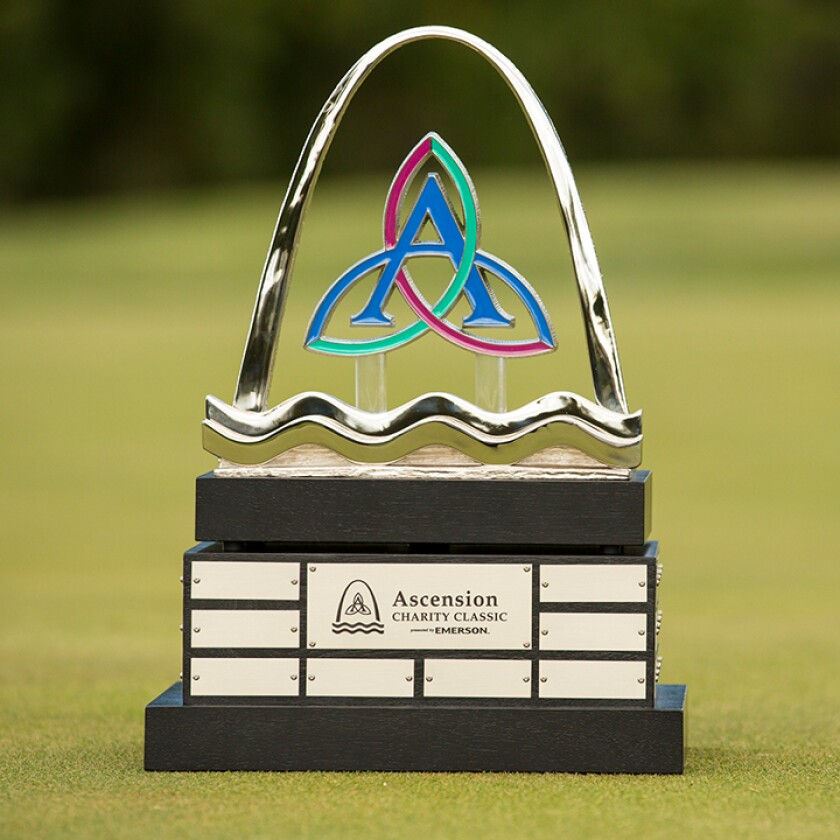Ascension Charity Classic trophy by Malcolm DeMille