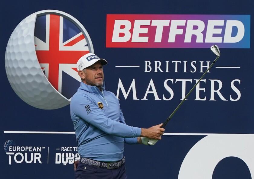 Lee Westwood 2020 Betfred British Masters