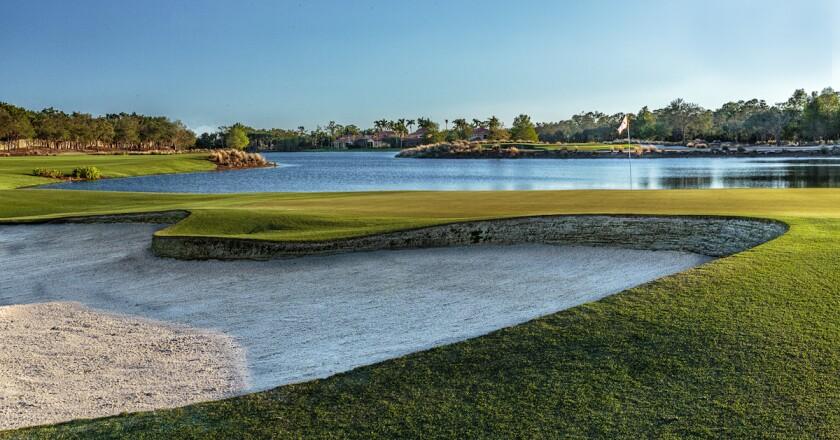 Tiburon Golf Club Gold Course in Naples, Fla.