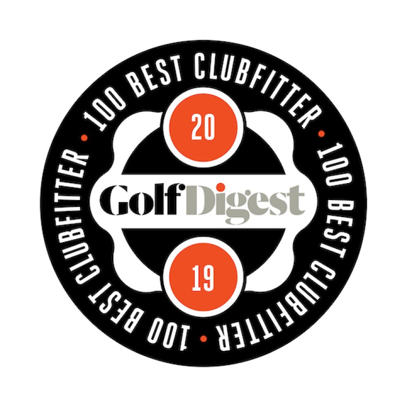 Golf Digest 100 Best Clubfitter