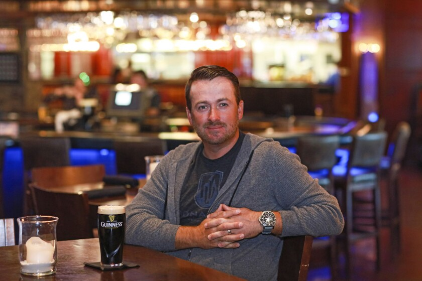 Graeme McDowell at his Nona Blue Modern Tavern