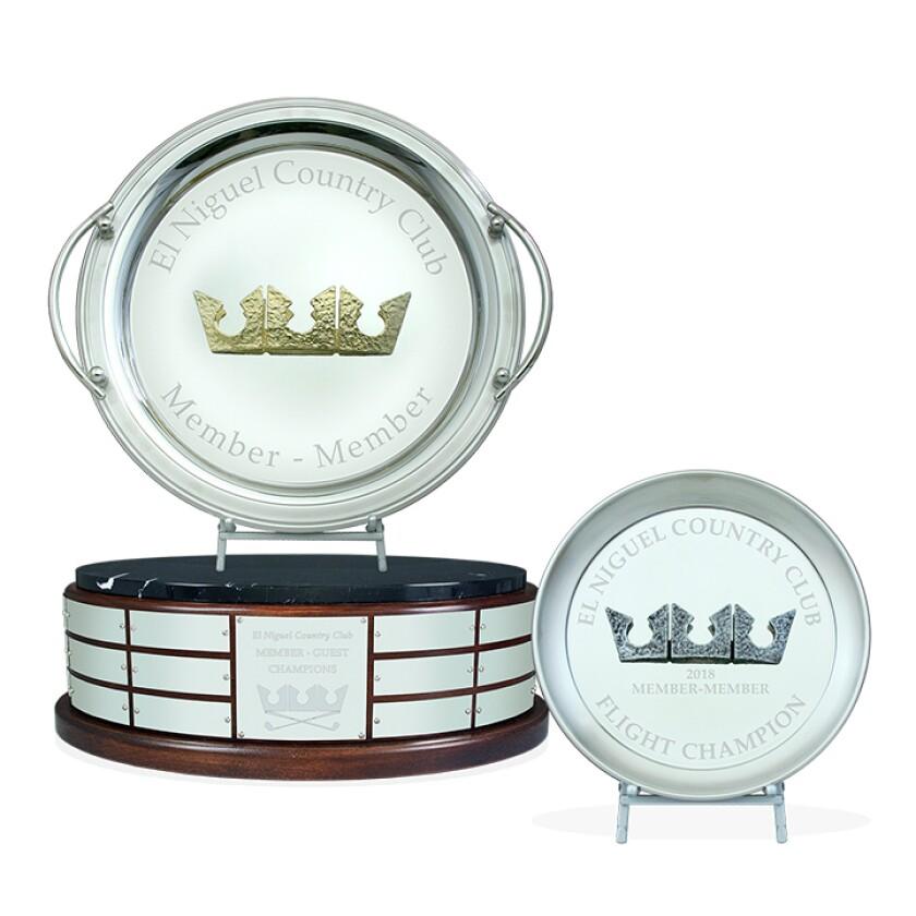 Malcolm DeMille — El Niguel Trophy Trays