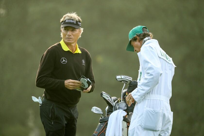 Bernhard Langer at 2020 Masters
