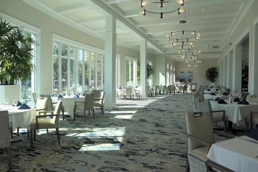 West Bay Golf — Clubhouse Dining Room