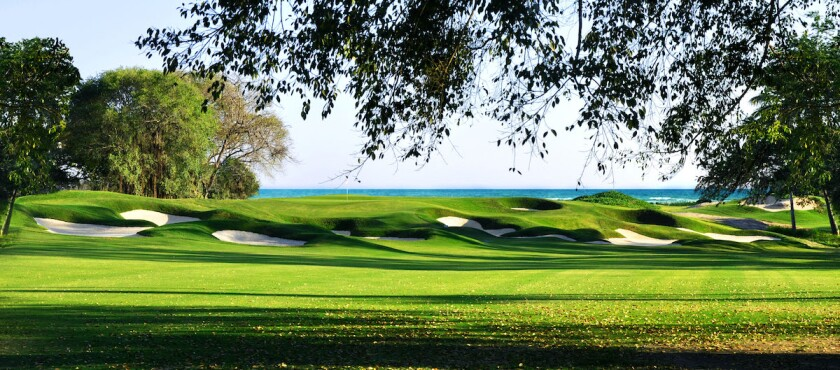 Las Parotas' 12th hole
