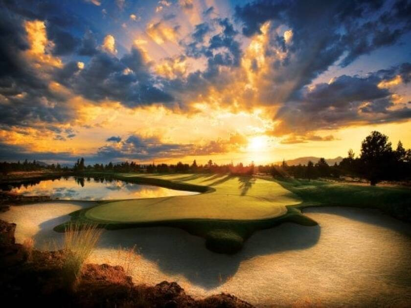 Pronghorn Nicklaus — Hole No. 13