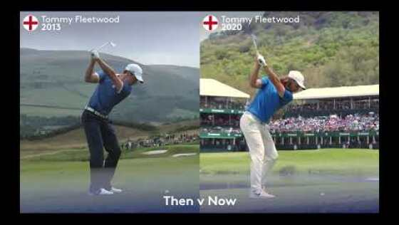 Tommy Fleetwood Then & Now Golf Swing